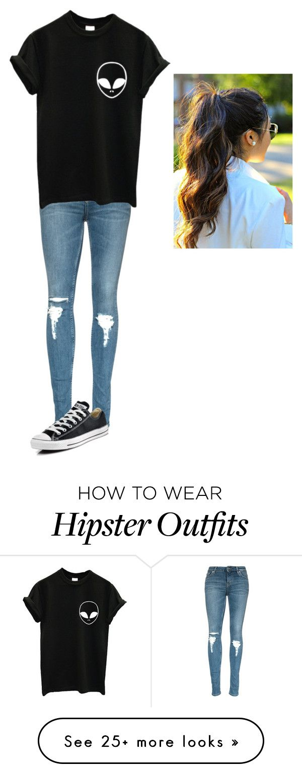 """Untitled #131"" by autumn-skye1 on Polyvore featuring Converse, women's clothing, women's fashion, women, female, woman, misses and juniors"