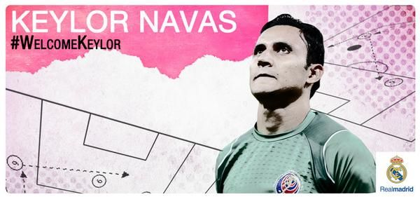 #Welcomekylor Navas to #Realmadrid
