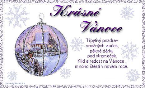vánoční přání - přáníčka 004