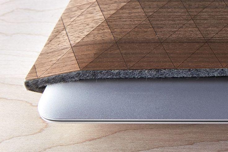 Walnut Macbook Sleeve