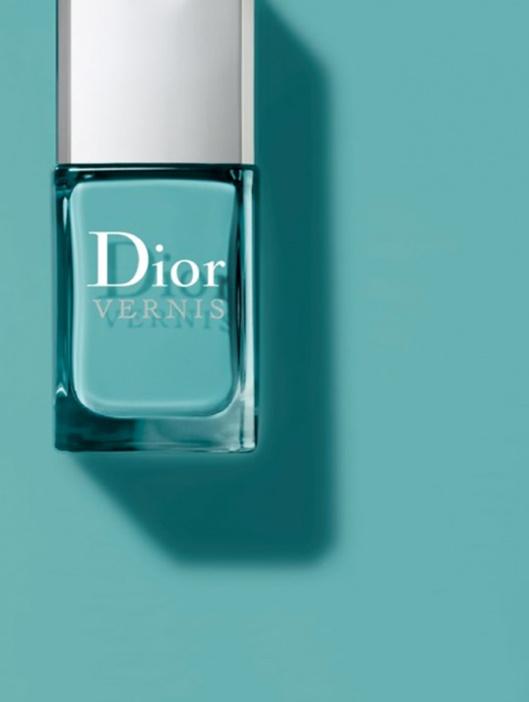 #Dior #nail Vernis Saint-Tropez