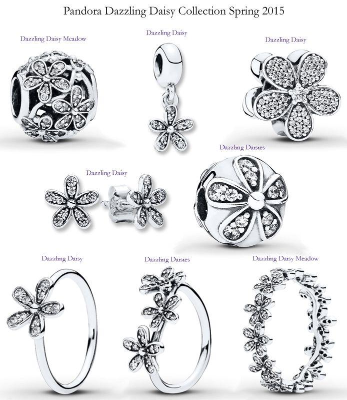 Pandora Dazzling Daisy Collection Spring 2015