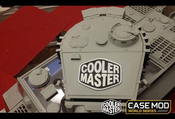Tiger 1 Tank Computer Case by Adam Owen