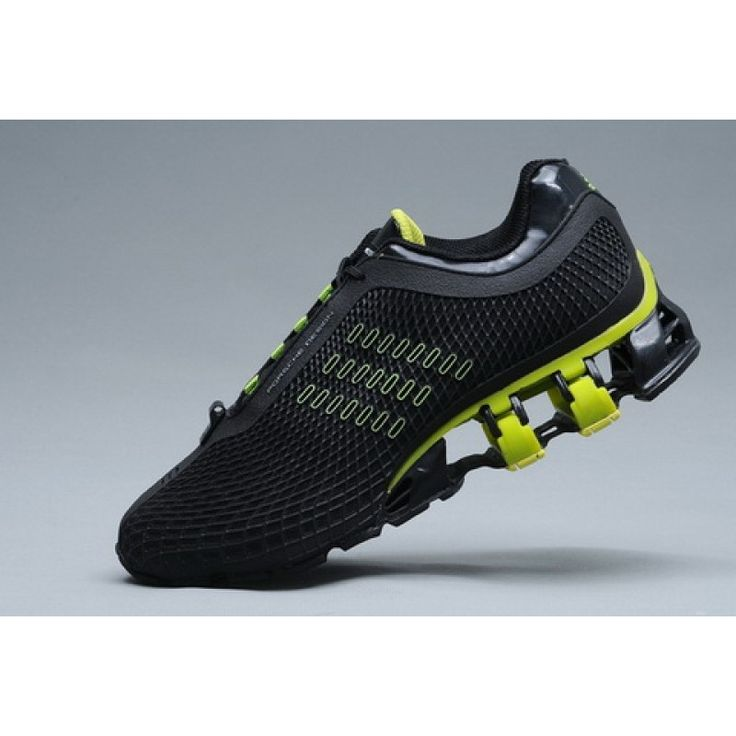 Adidas Porsche Design Adidas Bounce S2 P5000/P5510 Sport Running Black Green  New