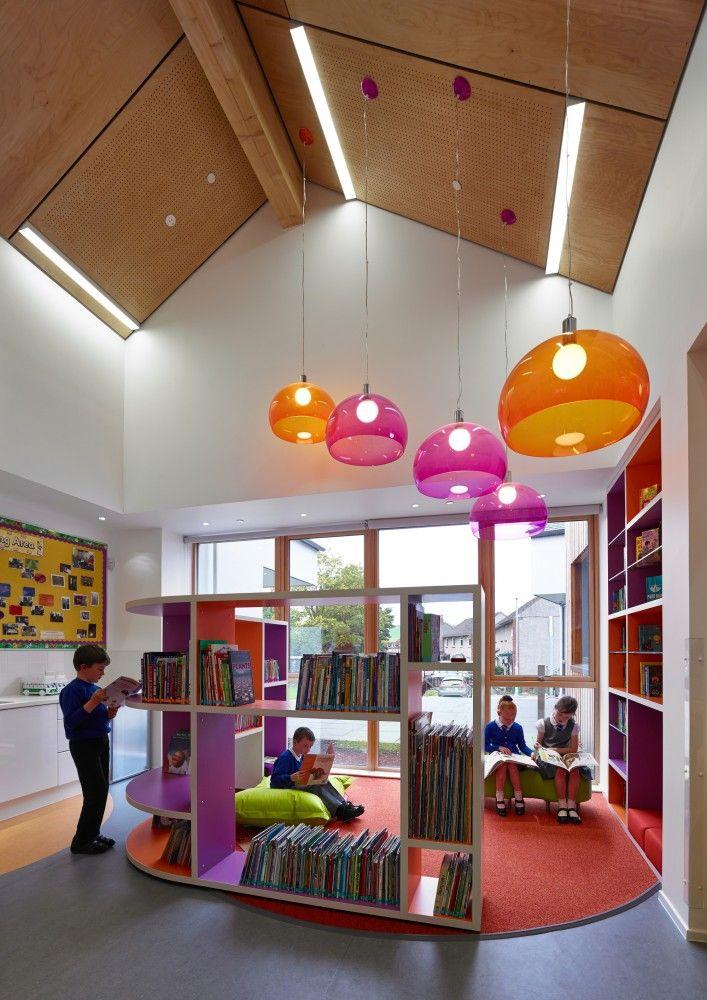 Kirkmichael Primary School in United Kingdom | Holmes Miller © Andrew Lee