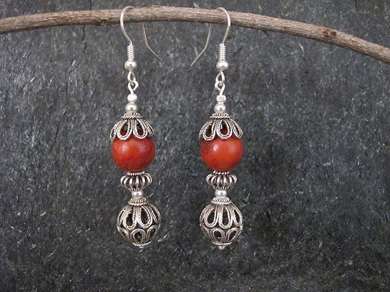 #Earrings, #Jewelry, #Silver-Earrings Jewelry Silver earrings Filigree earrings by MorSilverJewelry - http://www.judaic-jewelry.com/earrings/jewelry-silver-earrings-filigree-earrings-by-morsilverjewelry.html