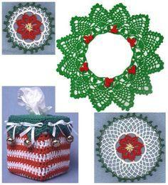 Christmas Through the Home Crochet Pattern