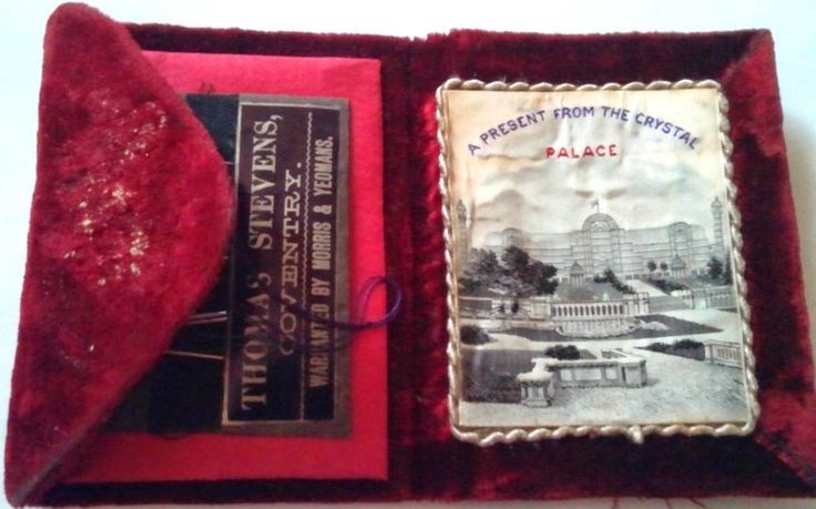 World Expo Souvenirs Museum: Sydenham Crystal Palace Souvenirs Sydenham Crystal Palace Needle Case