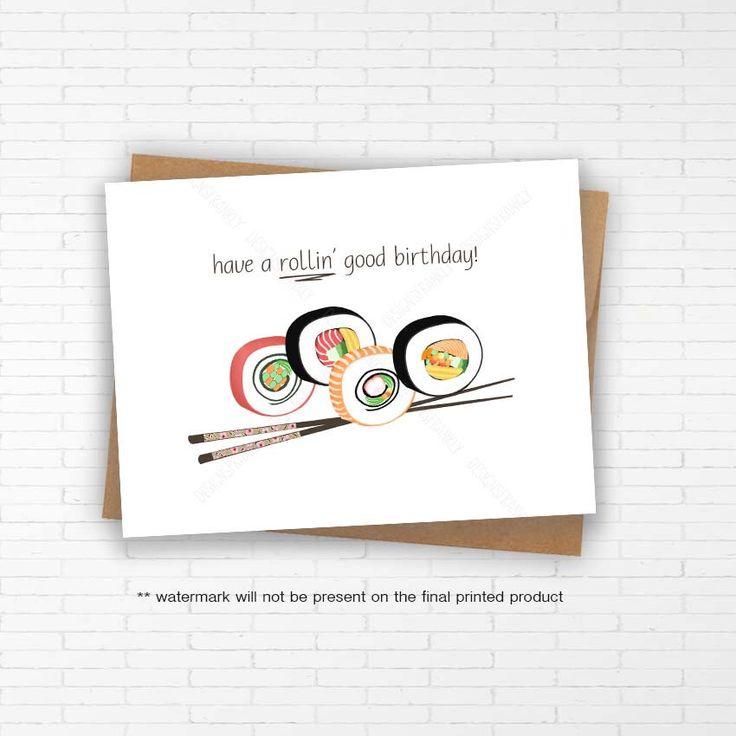 Best 25 Sushi puns ideas – Birthday Joke Cards