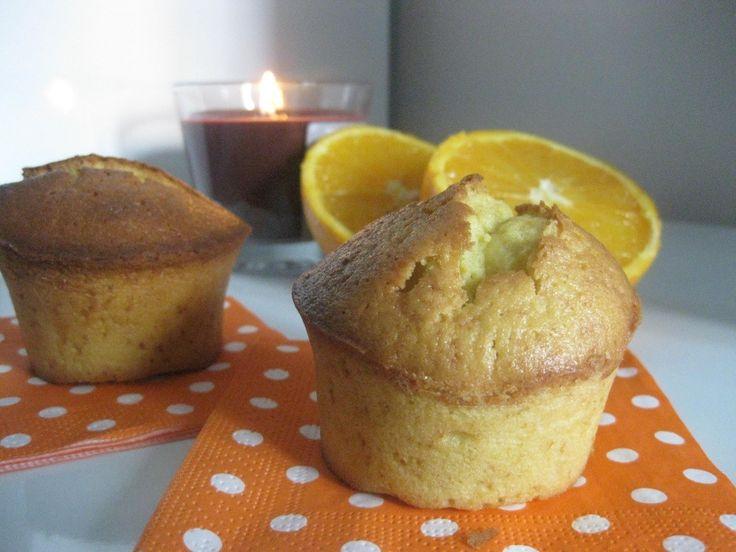 Si eres amante de los sabores cítricos esta receta de muffins de naranja no te dejará para nada indiferente.