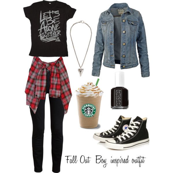 Fall Out Boy Inspired Outfit By Sildesigns On Polyvore