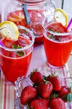 Λεμονάδα Φράουλας