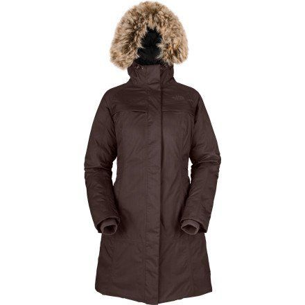 The North Face Women`s Arctic Parka AW11 (XS, Brunette Brown)