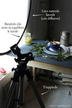 """Dietro le quinte del food blog #CrafMarmalade di Silvia Pesce - Behind the scenes """"Craft Marmalade"""" blog :) - Awesome series of food photography and video tutorials for food bloggers - food photography - props - DIY Backgrounds - recipe - food photos backstage - tips and tricks - sneak peek"""