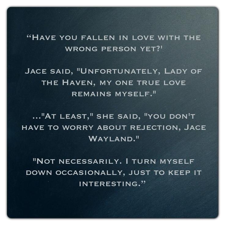 Jace Wayland (City of Bones ~ Mortal Instruments) Quote