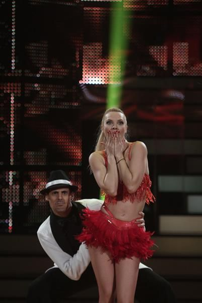 Latin Dancedress at dancing with the stars 5  #dancewear