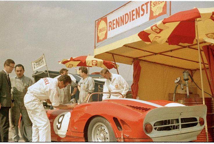 Internationales Auto- und Motorradrennen Flugplatz Zeltweg 1965