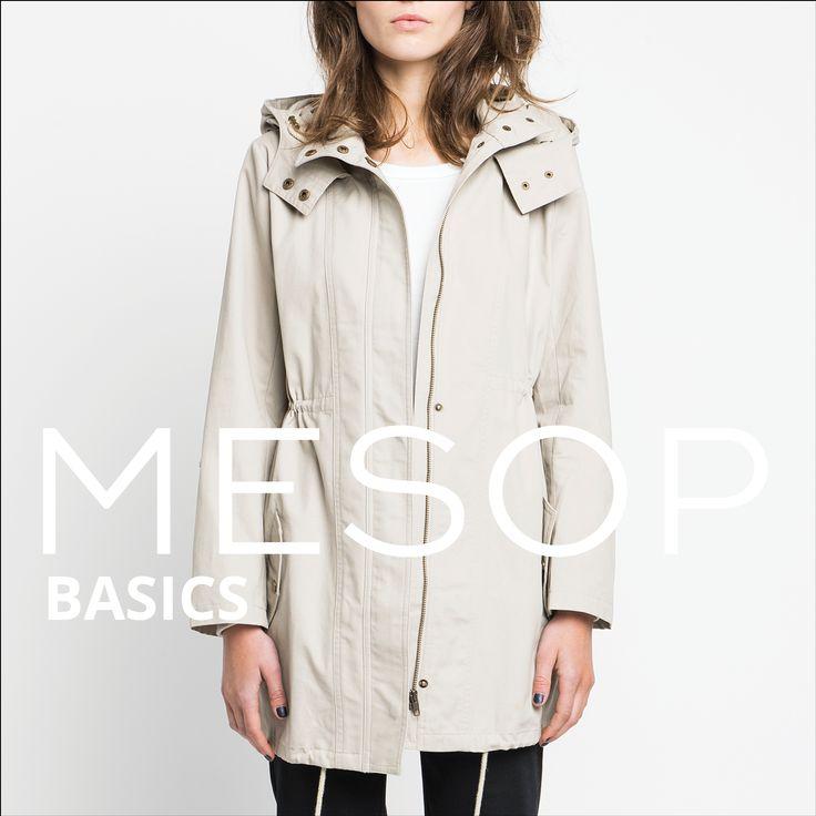 Mesop Basics Kiss the Dirt Anorak, Organic Cotton Easy Tee & Dylan Cigarette Pant | Autumn 2016 Collection 'Elemental www.mesop.com
