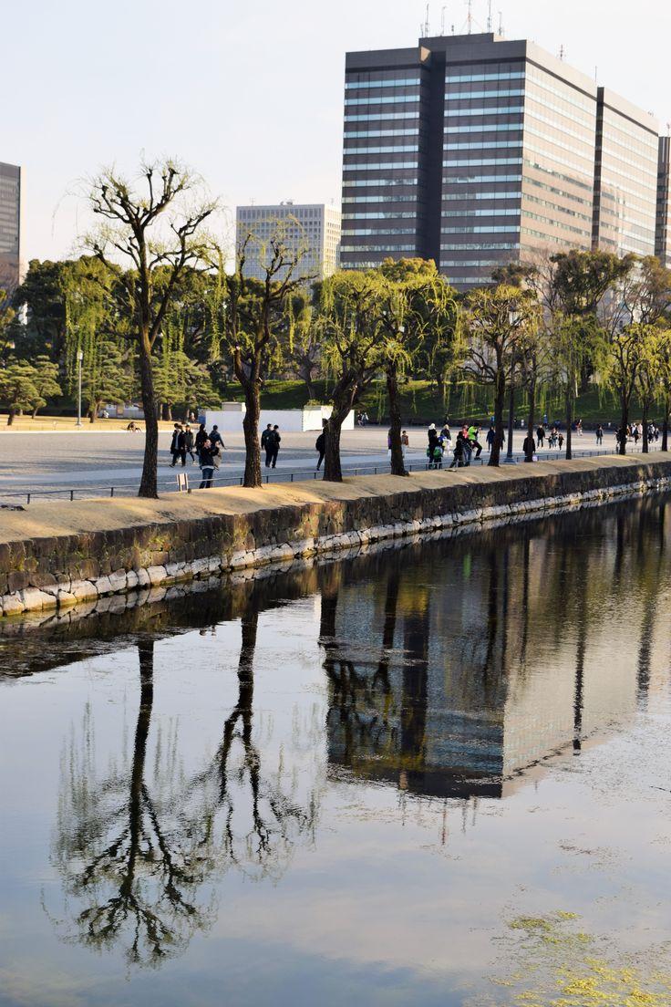 Près du palais impérial, Tokyo