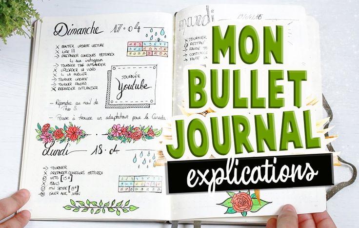 Mon bullet journal ! ✒️📖