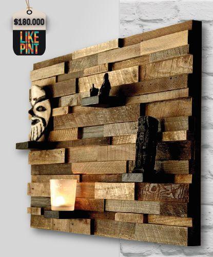 #Repisa Diseños en Madera - #LikePint