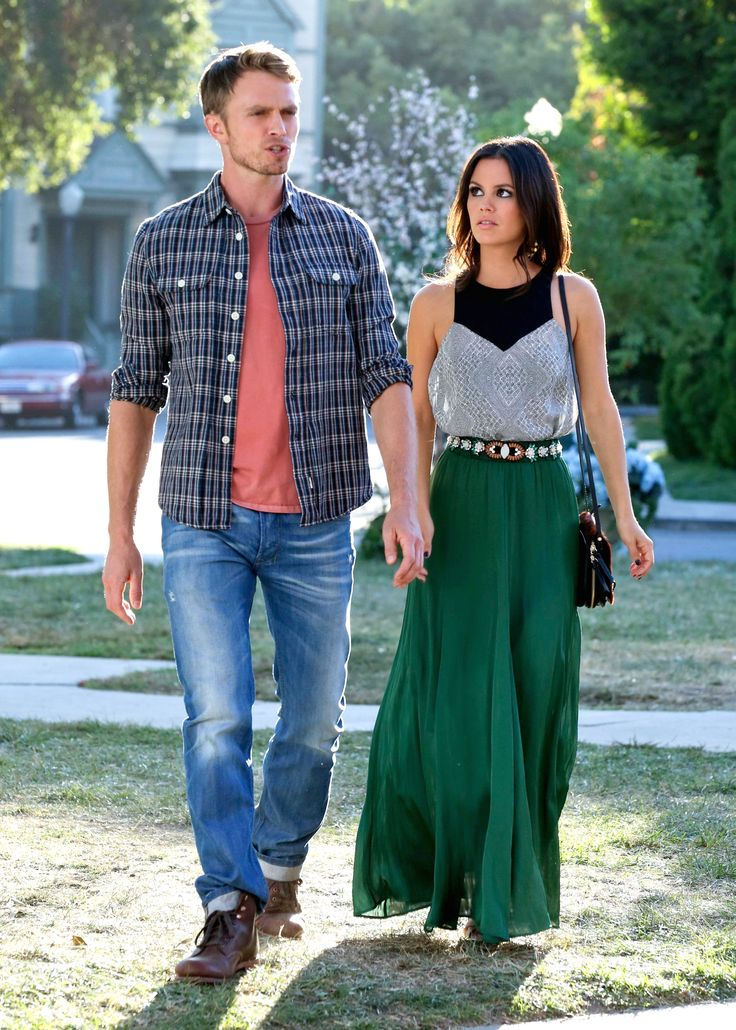 Shop Zoe Hart's maxi skirt and halter top from Hart Of Dixie! #HartOfDixie #ZoeHart http://www.pradux.com/tv/hart-of-dixie