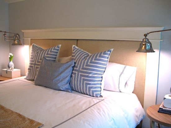 Diy headboards for king size beds here 39 s the upholstered - King size headboard ideas ...