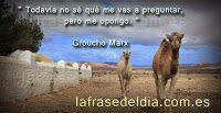 Frases Motivadoras de Amor,amistad y: citas famosas de Humor, Groucho Marx
