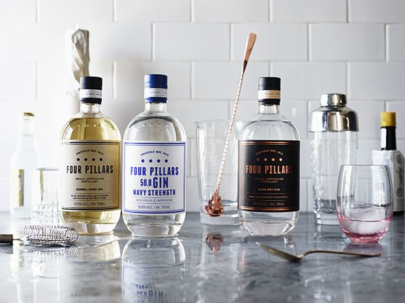 The Four Pillars gin has taken the gin scene by storm. It's one of the first Australian craft gins on the market and it's knocking it out of the park.