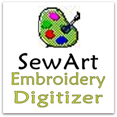 Download the FREE 30 Day Trial for Sew Art - Use SewART Digitizer Embroidery Software to auto merge, combine, convert clipart or other forms of raster and vector images into an embroidery file.