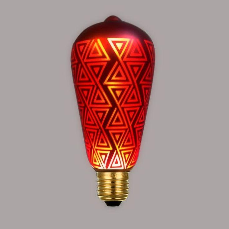 CHRISTMAS-žiarovka-RED-TRIANGLE-je-žiarovka-z-kreatívnej-kolekcie-CHRISTMAS