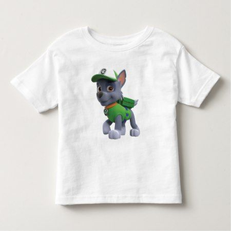 PAW Patrol | Rocky Toddler T-shirt - click/tap to personalize and buy