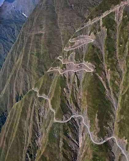 One of the most treacherous roads in Georgia: The Road to Tusheti