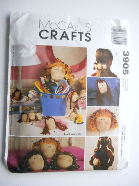 McCall's Pattern 3905 McCall's Crafts Accessories by DonnaDesigned, $6