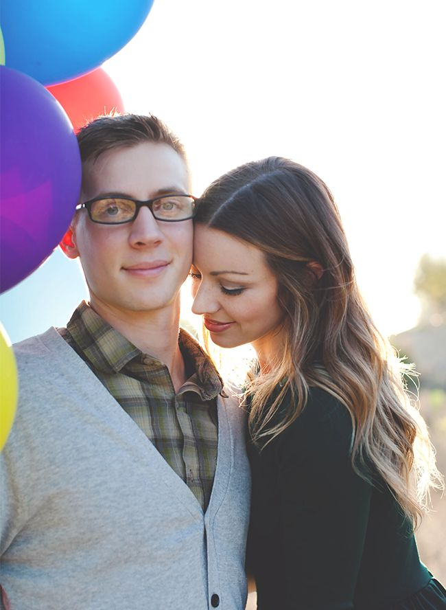 """Adorable """"Up!"""" Themed Engagement Shoot - Inspired By This"""