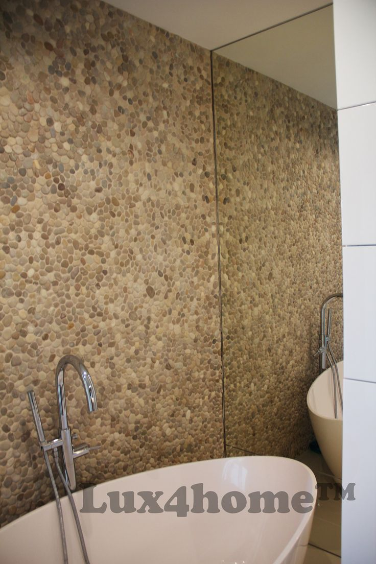 Bathroom pebble tile - Beige Pebble Tile Walls Bathroom We Are Looking For Importers From Your Country Interlocking
