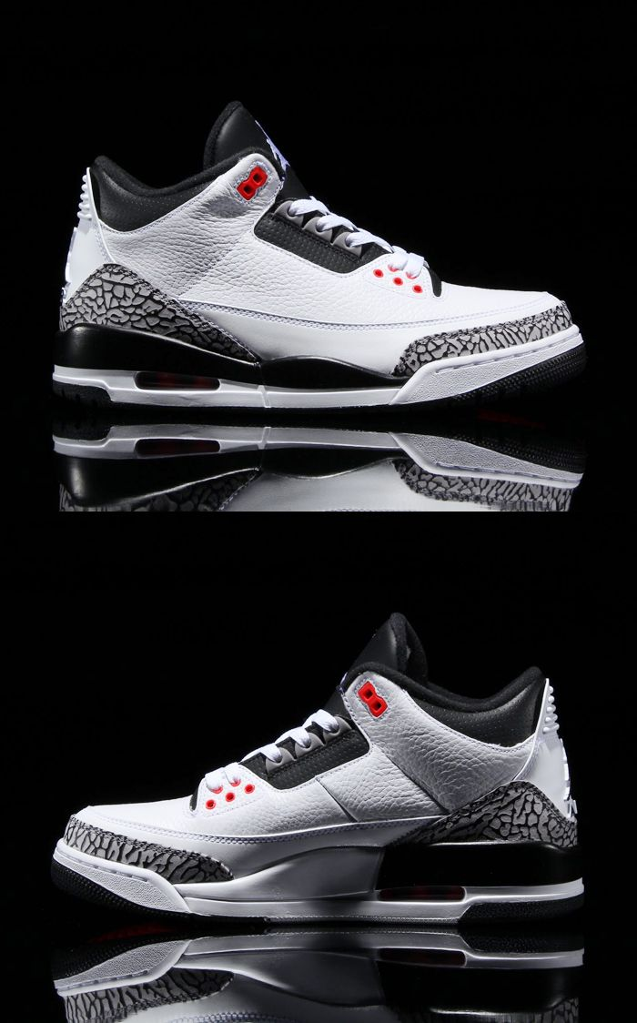 NIKE AIR JORDAN 3 RETRO (INFRARED 23)