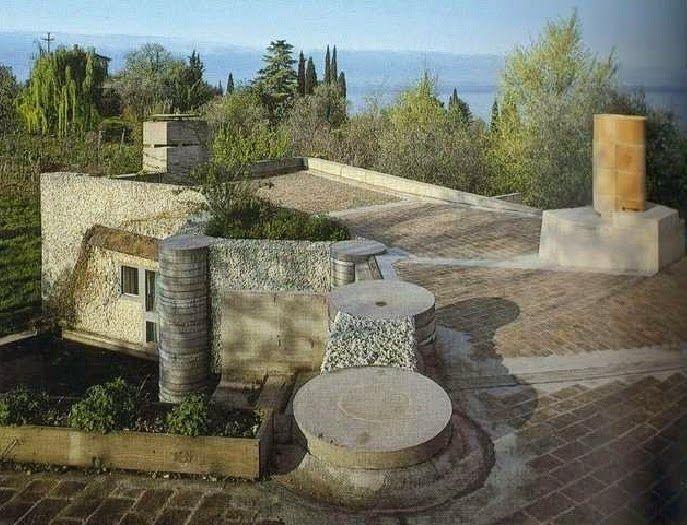 Villa Ottolenghi, Bardolino, Verona Italy (1974-1979) | Carlo Scarpa