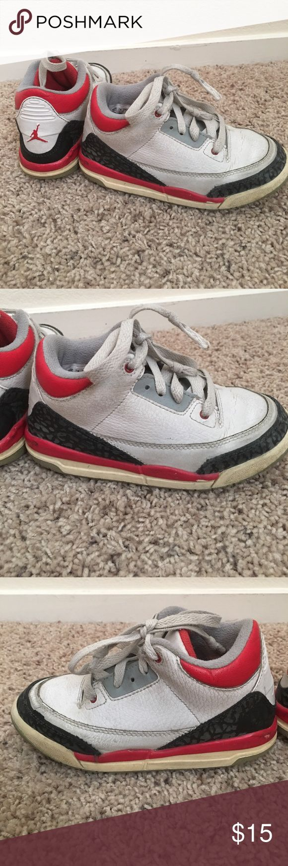 Jordans for kids Good condition. Still have life! Jordan Shoes Sneakers
