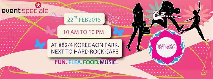 #Pune #KoregaonPark #NextTo #HardRockCafe #RagaLawns  #Fun #Food #Flea #Market