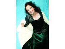 Pressbild Ann Hallenberg, mezzosopran, Drottningholms Slottsteater 15 augusti 2014