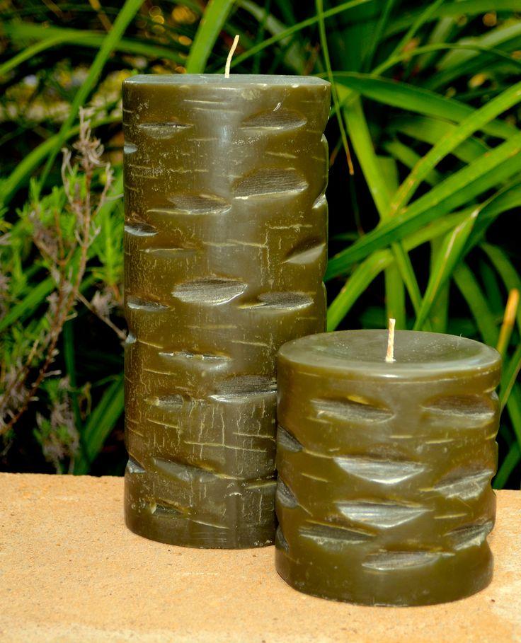 Beautiful pillar candles.   #Candles