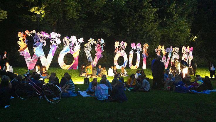 The Way Out West festival in Slottsskogen city park.