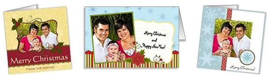 Free photo insert christmas cards templates