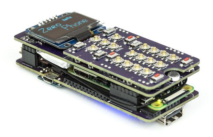 Um grupo de programadores desenvolveu um projeto que permite construir um telefone móvel a partir de um Raspberry Pi Zero e deram-lhe o nome de ZeroPhone.
