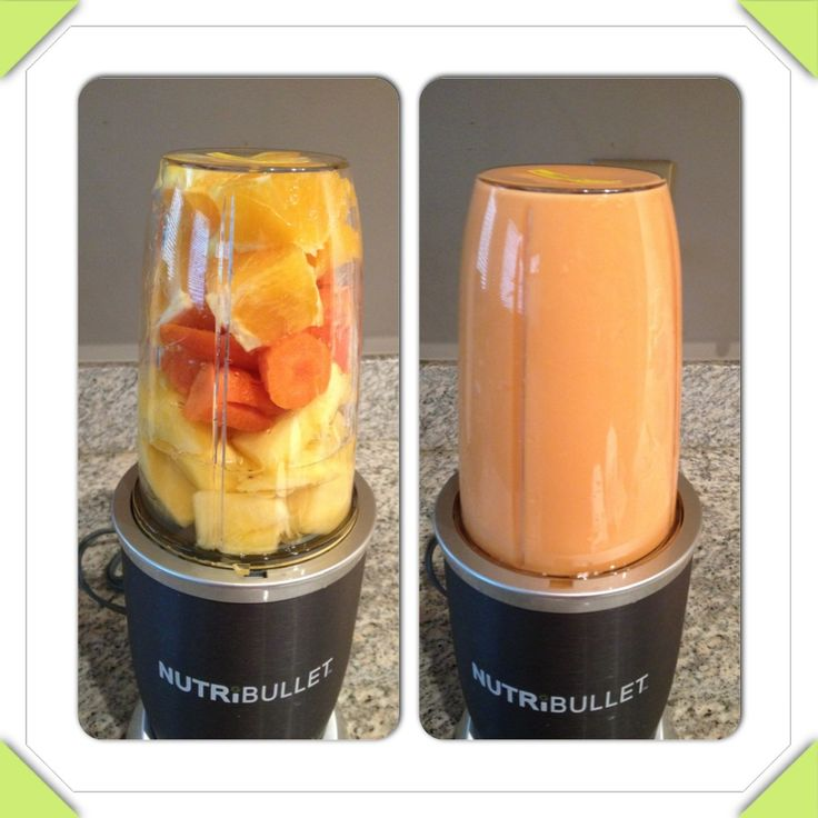 Orange Dreamsicle! Oranges, Carrots & Pineapple #NutriBlast #NutriBullet