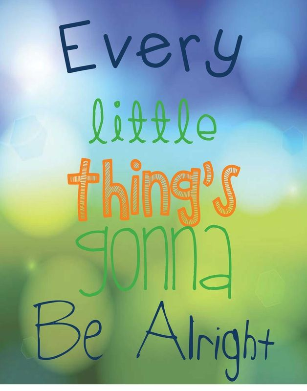 #bobmarley Every Little Thing's Gonna Be Alright #beanandjean