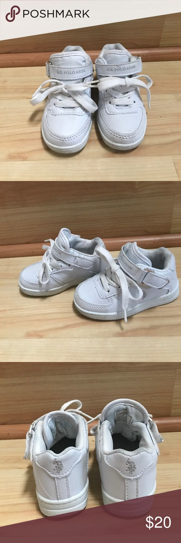 Polo shoes Size 7 toddler polo shoes- like new!! U.S. Polo Assn. Shoes Sneakers