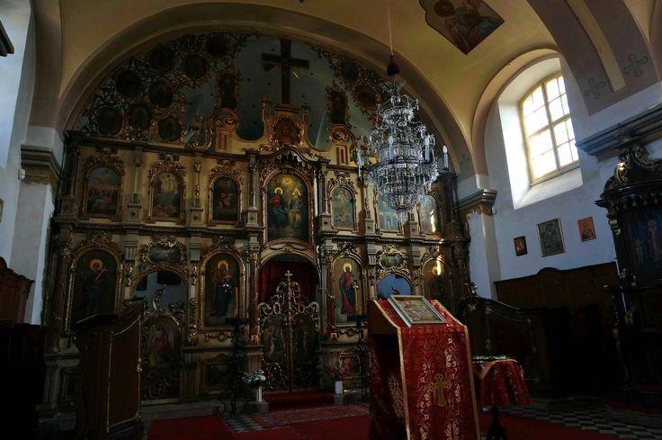 Iconostasis, St George Serbian Orthodox Church, Pomáz, by elinor04