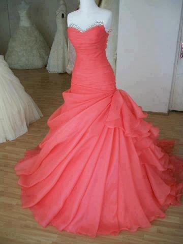Gorgeous Ball Gown ,Prom Dress,Evening Dress,Long Prom Dress,Red Prom Dress,Occasion Dress,Formal Dress
